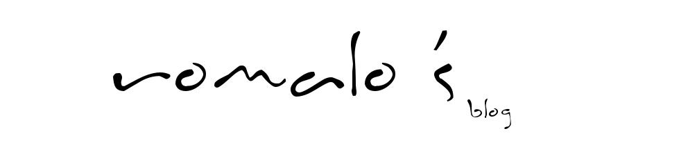 Romalo's blog