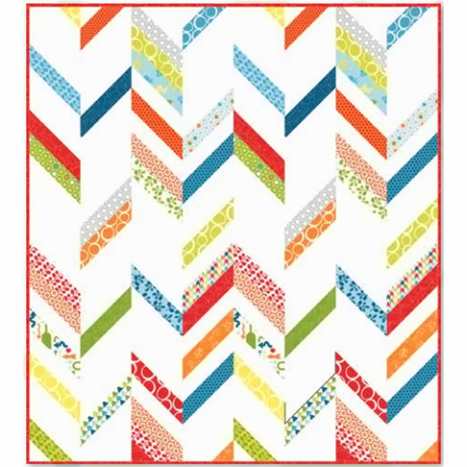 Free Quilt Patterns Moda Fabrics : Crazy Quilt Girl Fabric Shop: Moda MIXED BAG Fabric
