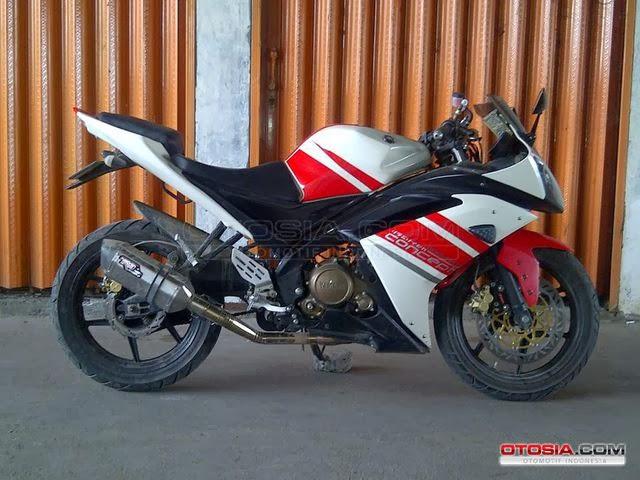 Gambar Modifikasi Yamaha Vixion Model YZF R125 Terbaru