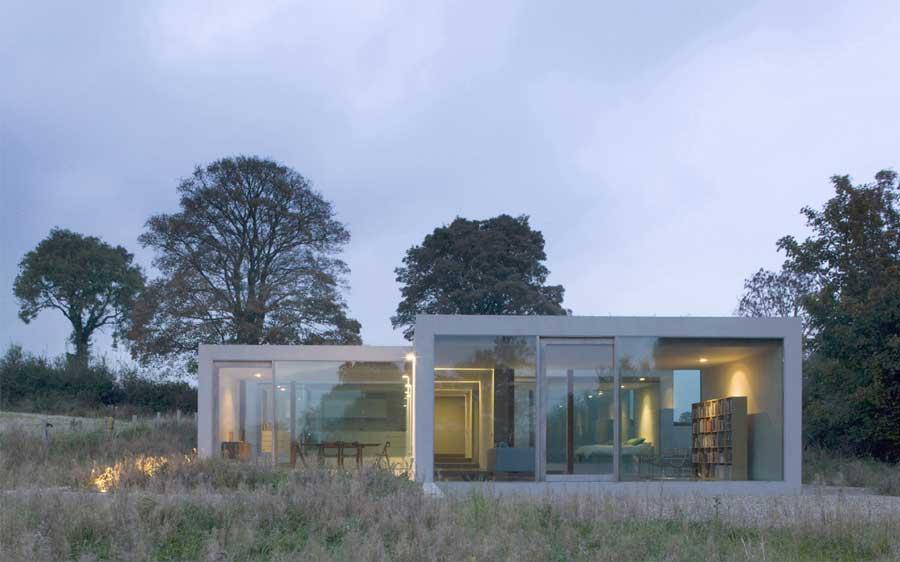 Arquitectura arquidea casa minimalista en bohermore for Casa minimalista economica