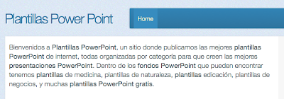 Plantillas Elegantes Power Point