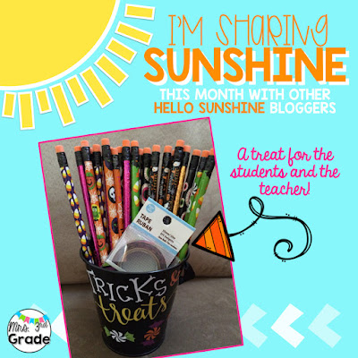 Sharing Sunshine with a little Halloween treat!