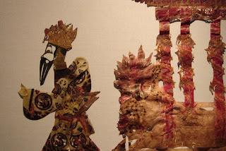 De la exposición de Marionetas del Teatro de Sombras - Museo Nacional de Arte de Beijing - Julio 2007