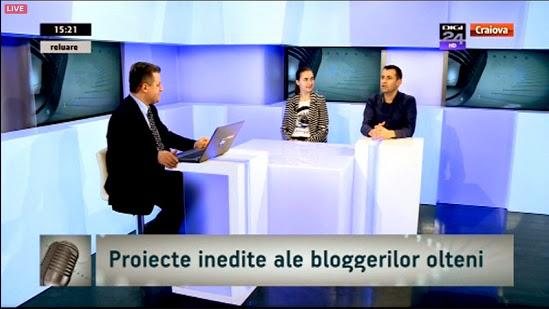 Vocile blogosferice ale Olteniei la Digi24 Craiova
