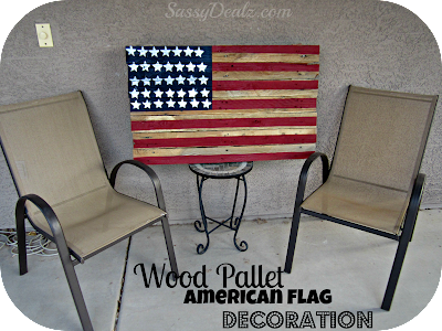 american flag wood pallet diy outdoor decoration