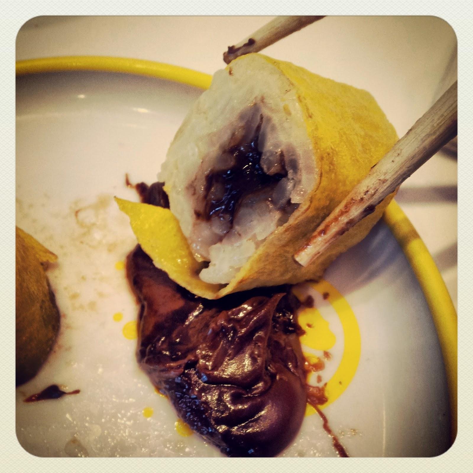 Paris, Planet Sushi, Nutella maki