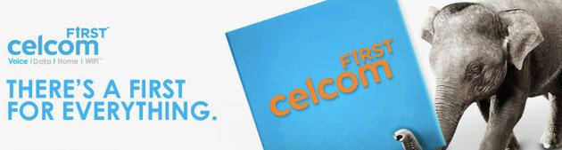 Celcom First Elite , Maria Sharapova Duta Celcom First