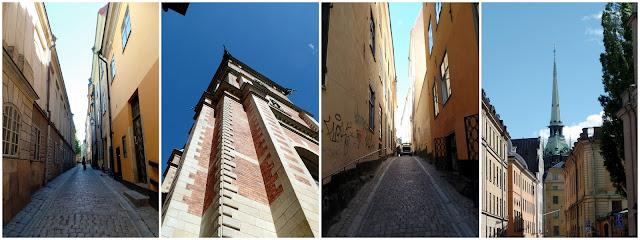Gamla Stan Stockholm Estocolmo Sweden Suecia Old City Streets