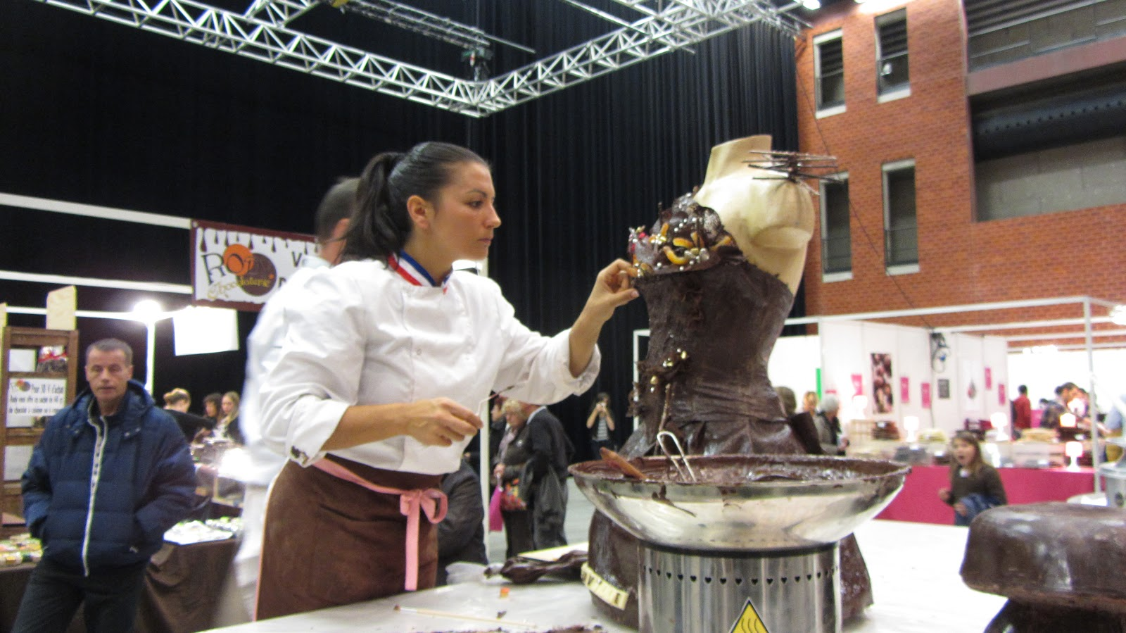 a table salon du chocolat montauban