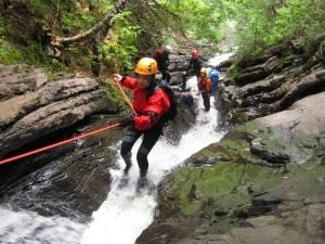 adventure canyoning gunungkidul