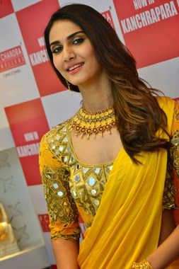 YELLOW COLOUR BOLLYWOOD SAREE