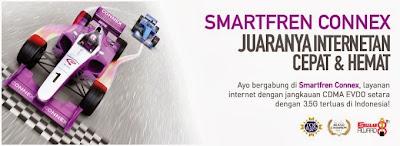 Daftar Harga Paket Internet SmartFren Connex Terbaru Lengkap