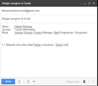 Cara Kirim Email [Gmail-Yahoo] Lengkap