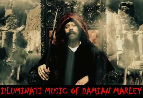 See Illuminati Music of Damian Marley; Bob Marley's son: