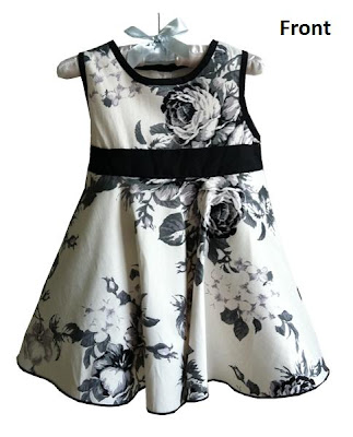 Floral+Dinner+Dress +F Review: Clothes for kids!