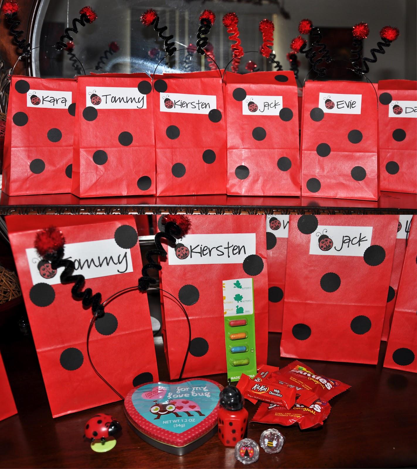 Sutherlands 2008-2012: Whitney's Ladybug Birthday Party
