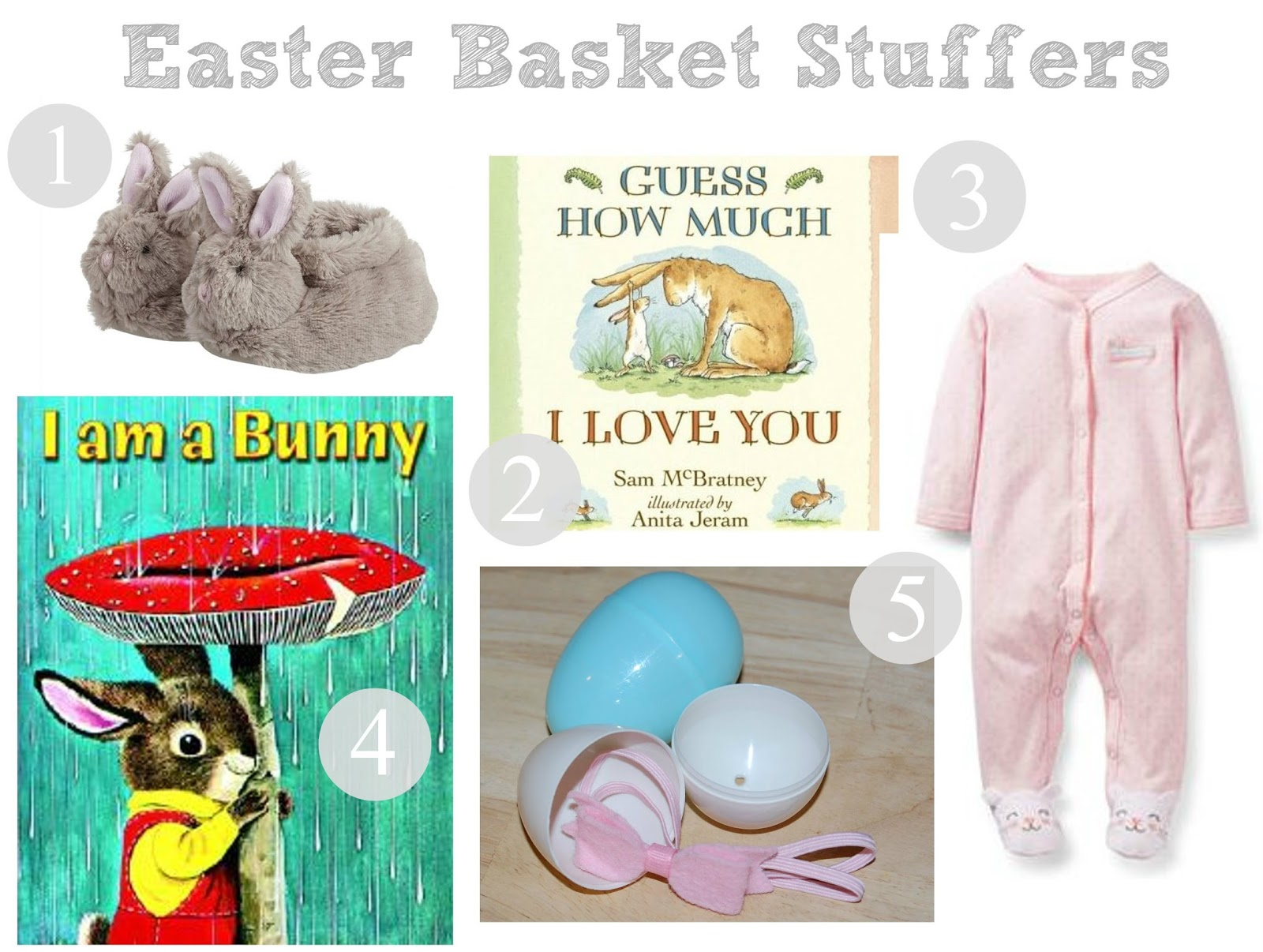 Whatever dee dee wants shes gonna get it girls easter basket 1 fury bunny slippers from pottery barn kids 2 guess how much i love you board book 3 new spring pajamas i love these easter pjs from carters negle Image collections