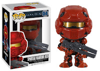 Funko Pop! Spartan Warrior Red