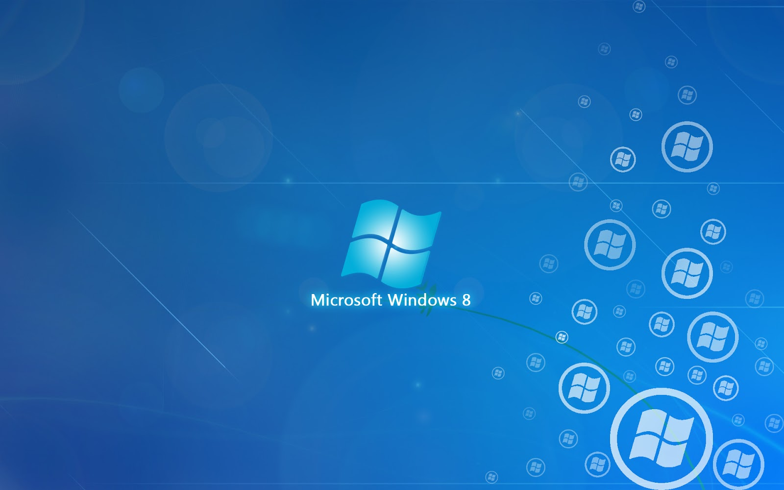 Windows 8 Blue And Light Colored HD Wallpapers