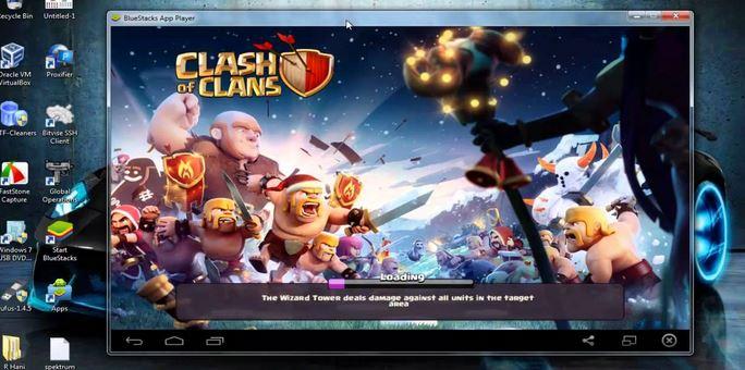 Cara Main Game Clash Of Clans (COC) di PC dan Laptop