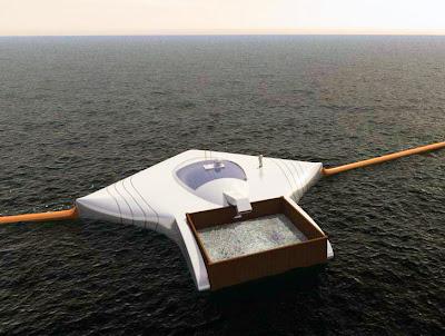 Ocean Cleanup Array - Máquina capaz de limpar todo o plástico dos oceanos em 5 anos