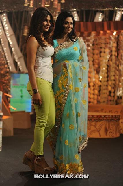 Sridevi, Priyanka Chopra  - (3) - Sridevi, Priyanka Chopra & Shweta Tiwari at Greenathon 2012.