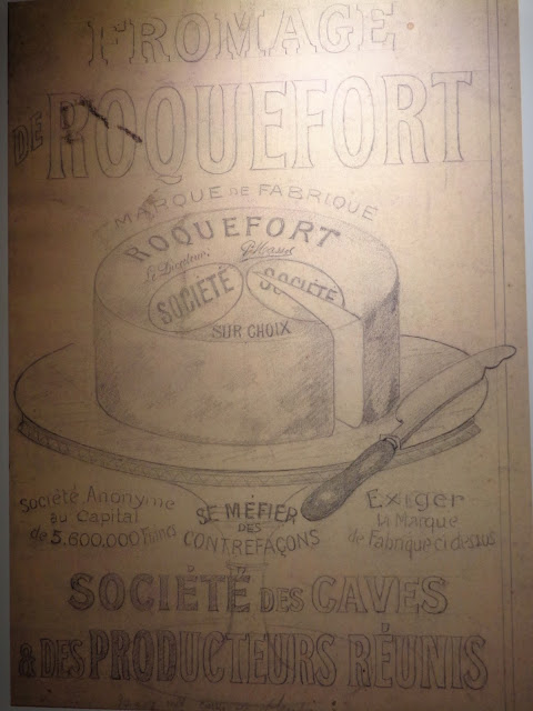 Old Roquefort advertisements