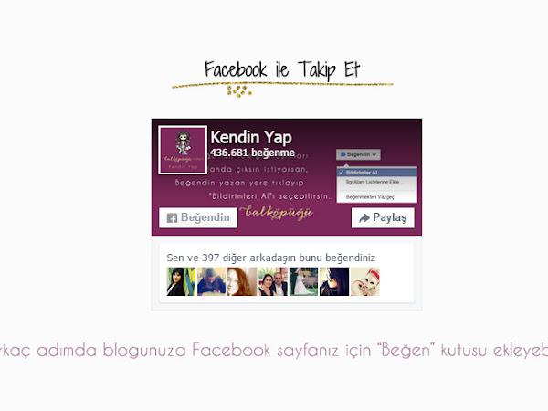 Blog Eklentileri | Blogunuza Facebook Beğen Kutusu Ekleme