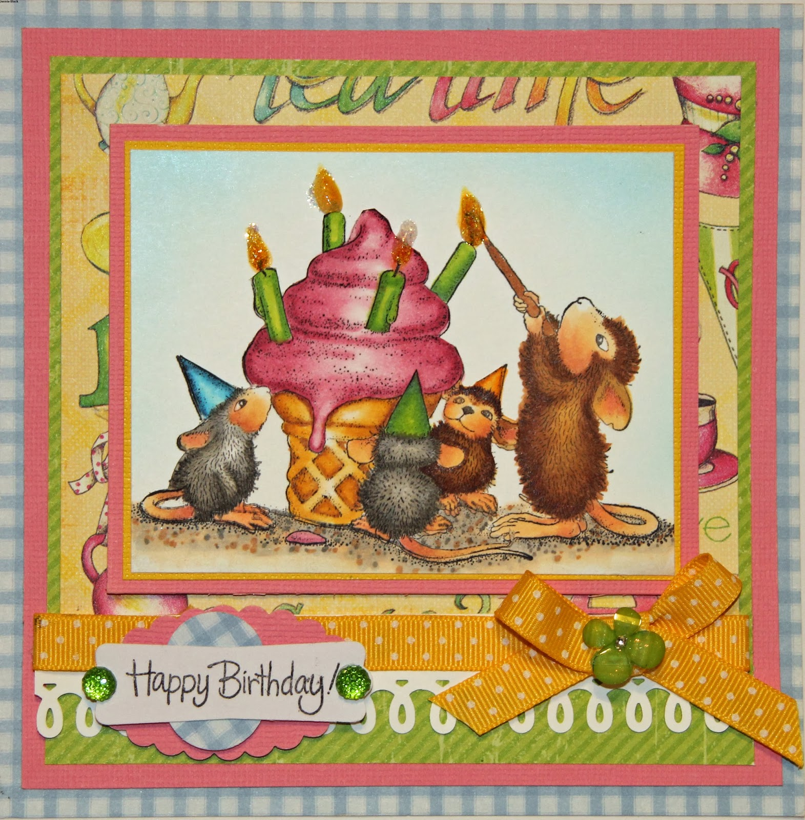 Color With Jennie: House Mouse - Birthday on house mouse design time, house cleaning services business cards, house mouse christmas,