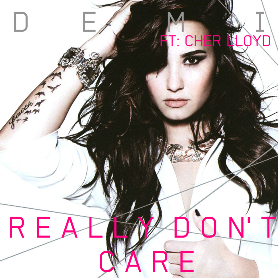 copertina Demi Lovato Really Don't Care feat. Cher Llyod