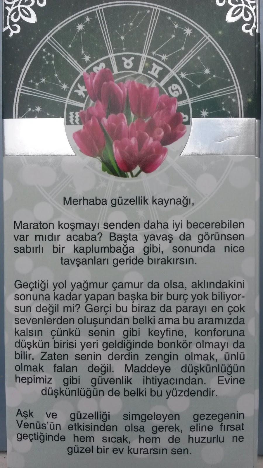 ARTEMİS BURÇ KREMLERİ / BOĞA