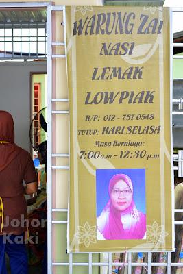 Nasi-Lemak-Kak-Zai-Batu-Pahat-Johor