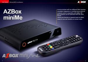 NOVAS ATUALIZAÇÕES AZBOX MINI ME DATA: 23/07/2013. Azbox-mini-me-300x212