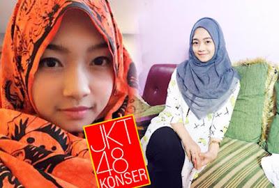 Foto Sendy JKT48 Berjilbab
