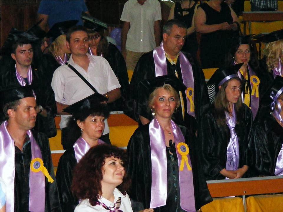 Luminita Raileanu (Drept USH) Absolvire Psihologie USH vara 2013