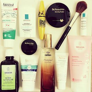 produits cosmétiques francais et allemands