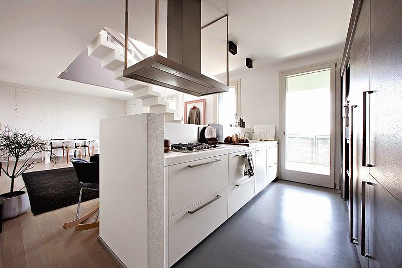 Ilia estudio interiorismo la cocina abierta al sal n for Diseno de cocinas abiertas al salon