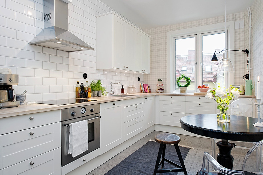 COCOCOZY: SMART DESIGN: PLAID KITCHEN!