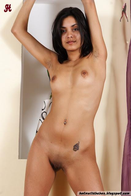 Babita Bhabhi striping to pose nude for a adult magazine indianudesi.com