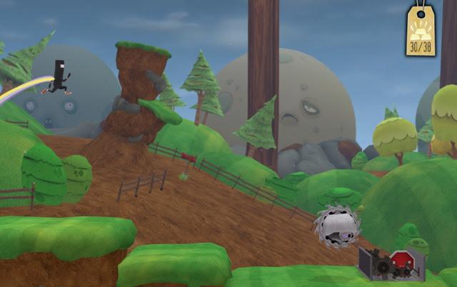 Screenshot of Wii U eShop game Runner 2: Future Legend of Rhythm Alien