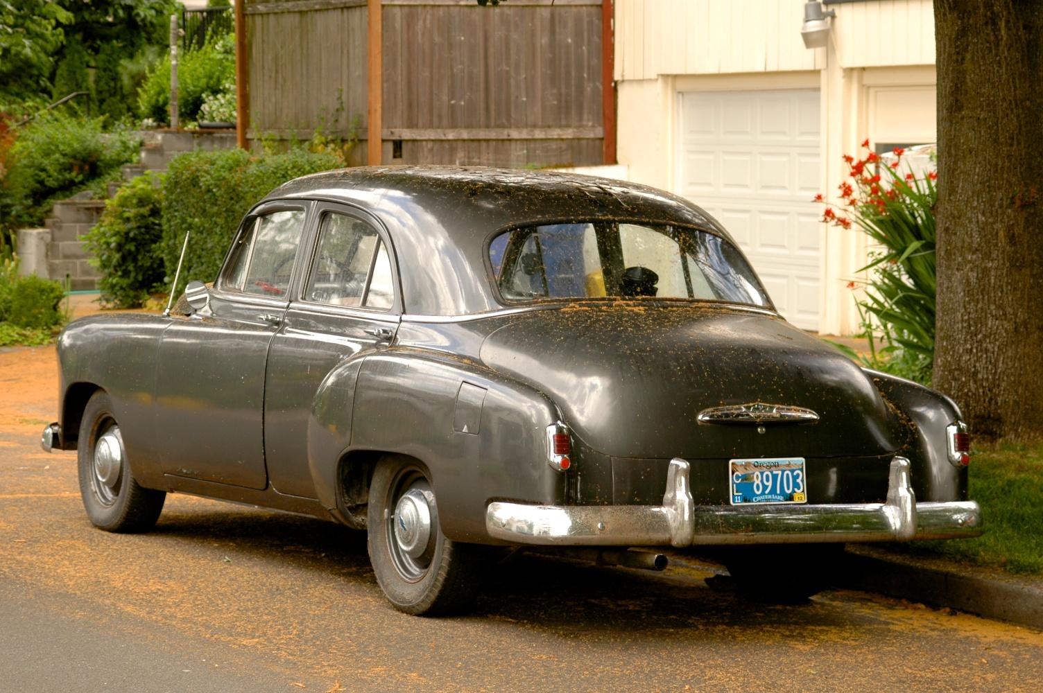 1951 Chevrolet Styleline Sedan.