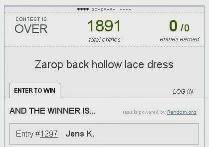 zarop winner on fashion and cookies