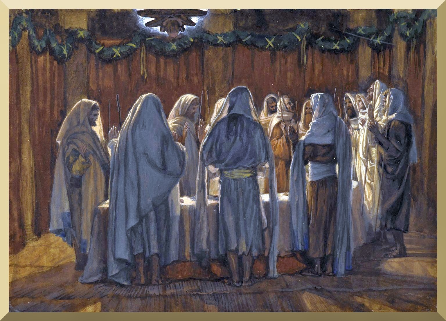 """The Last Supper"" -- by James Tissot"