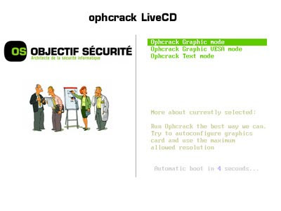 Ophacracke, Windows,Live CD,quebrar senha, revelar senha, descobrir senha, login windows, senha xp, senha vista
