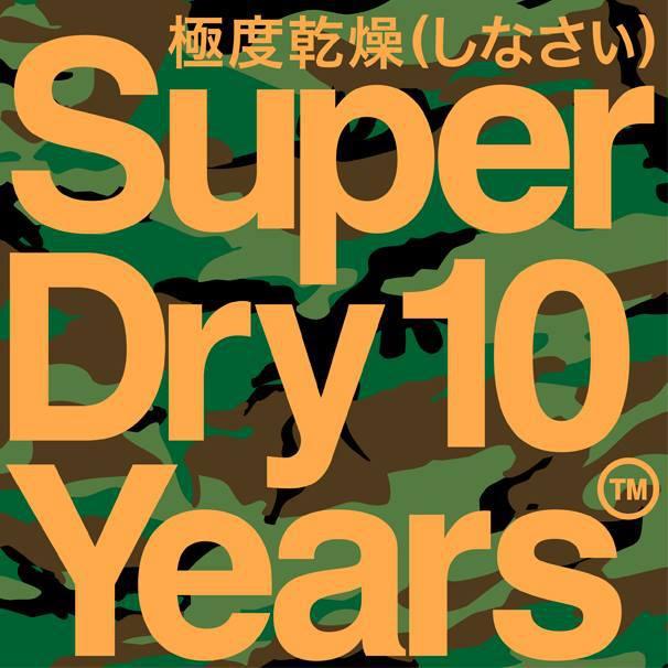 Imagen de 10 aniversario de Superdry
