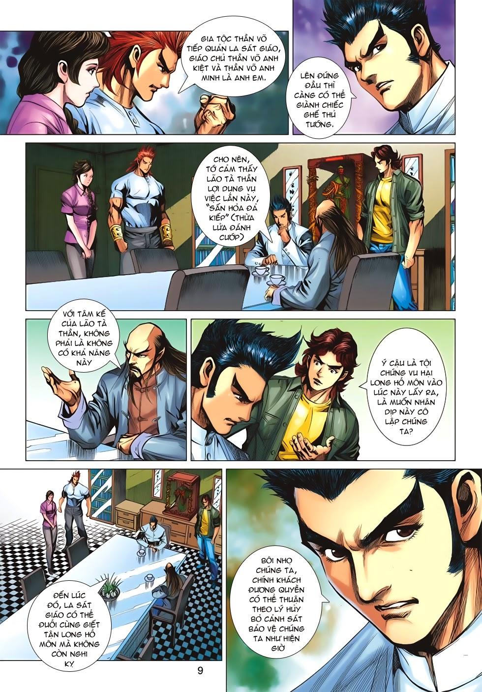 Tân Tác Long Hổ Môn chap 659 - Trang 9