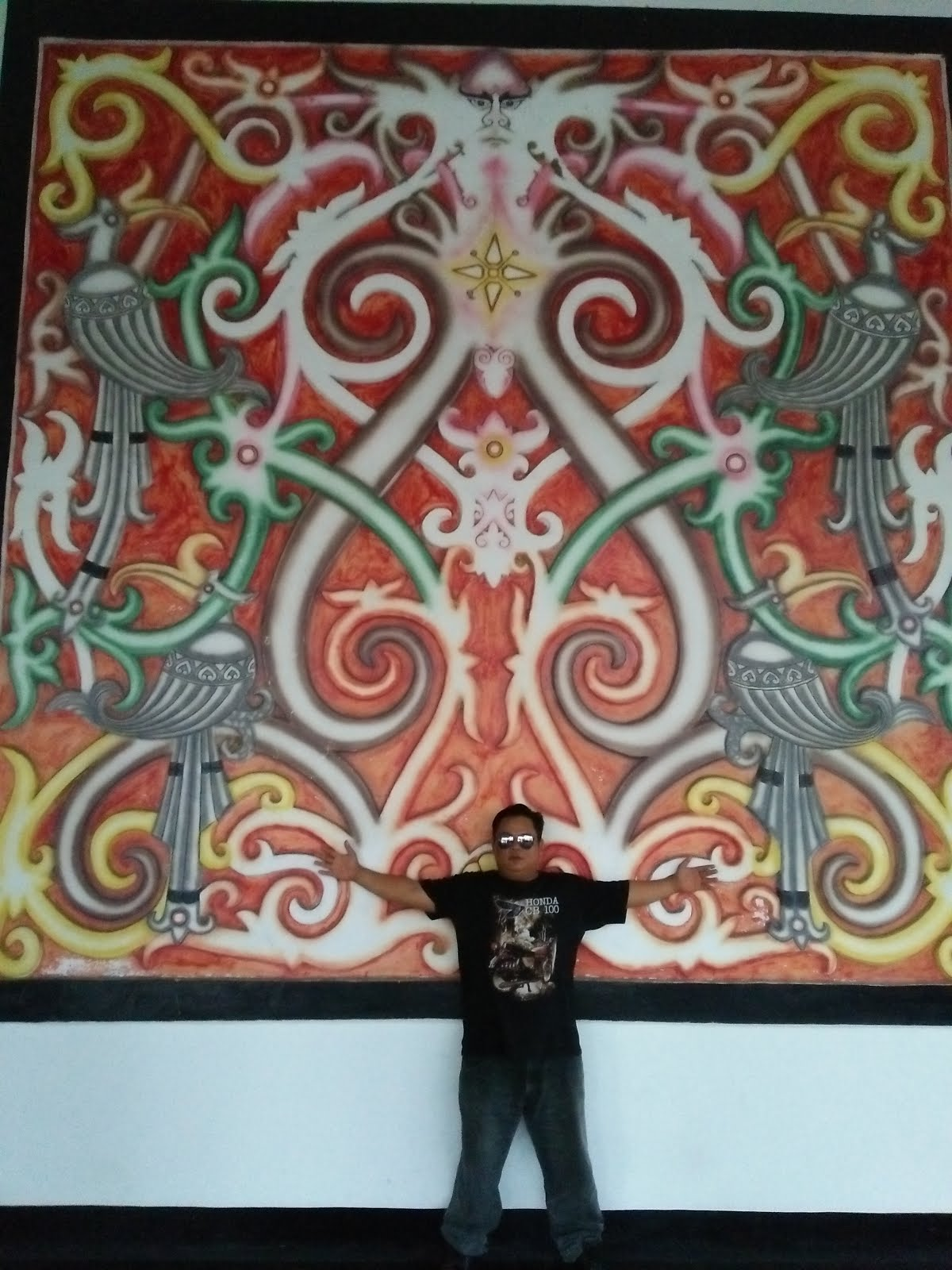 Selfi di Pendopo Gubernur Kalbar