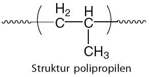 Struktur polipropilen