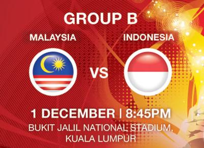 Keputusan penuh Malaysia vs Indonesia Piala Suzuki AFF 2012