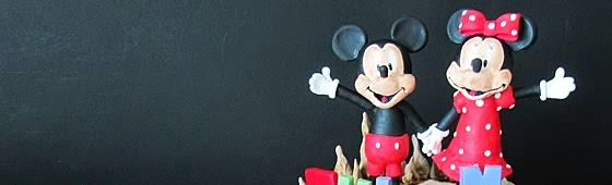 Header picture for Mickey and Minnie cake
